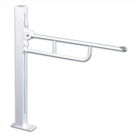 Barre d'appui pour toilettes ajustable (Fixation au sol) - Pressalit