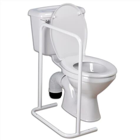 Barre d'appui pour toilettes latérale