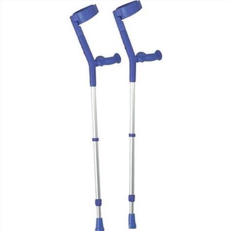 Béquilles colorées - poignées ergonomiques - Bleu