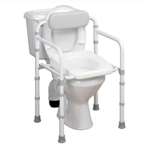 Cadre de toilettes pliant