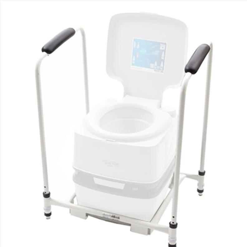 Cadre pour toilette portable Porta Potti