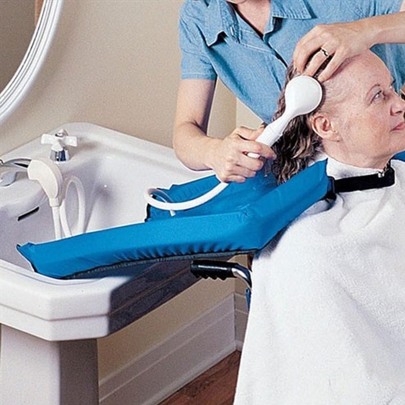 Cape de protection pour laver les cheveux