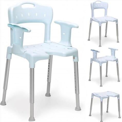 Chaise de douche Etac Swift - Bleu