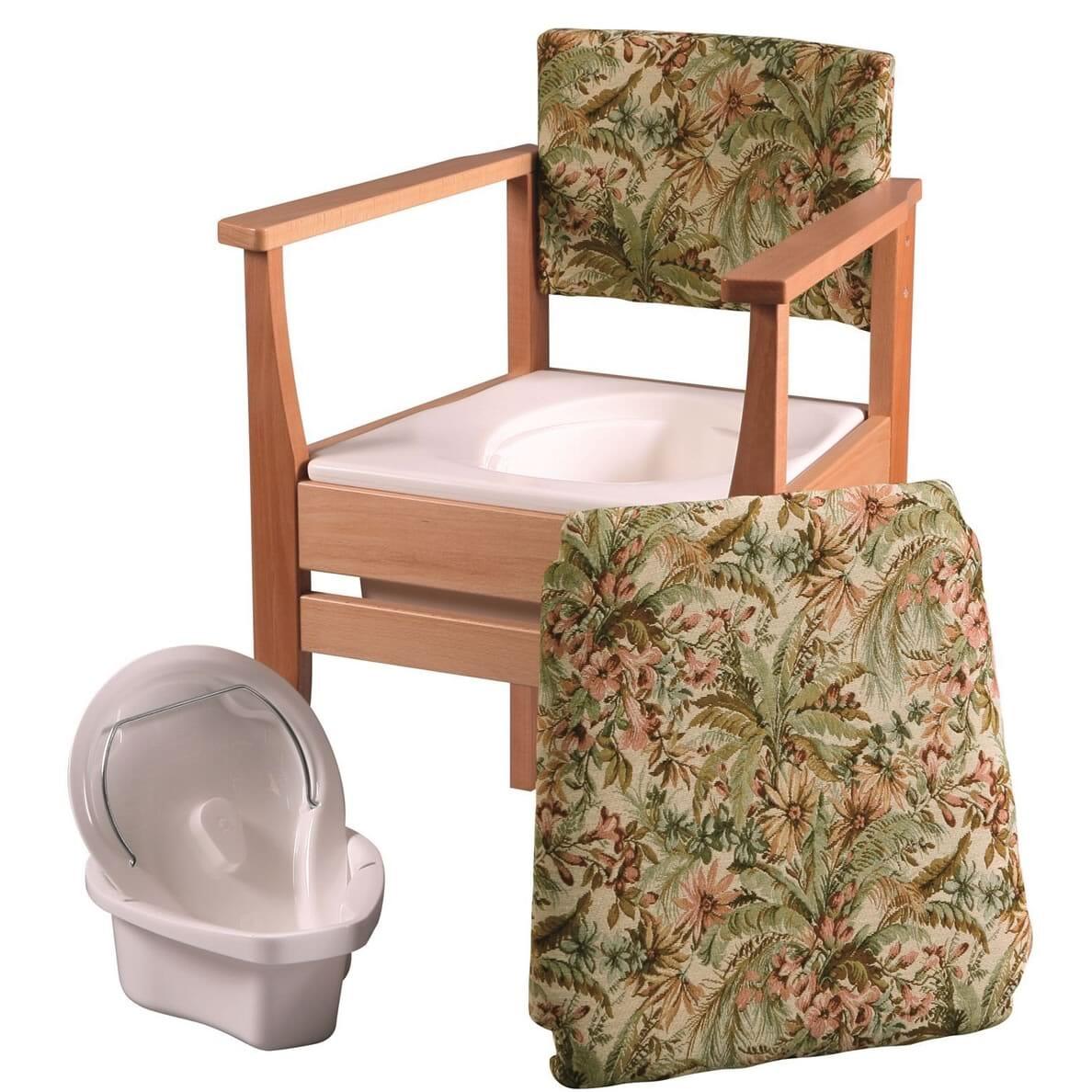 Chaise garde-robe - Motif tapisserie