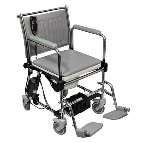 Chaise percée à roulettes - Lift-Assist
