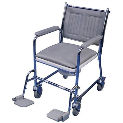 Chaise percée à roulettes Linton