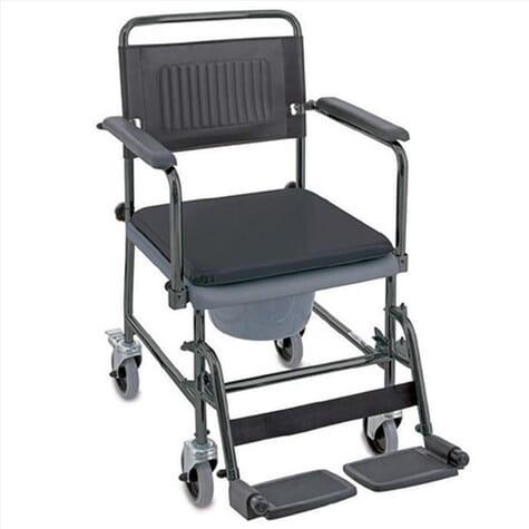Chaise percée avec roues