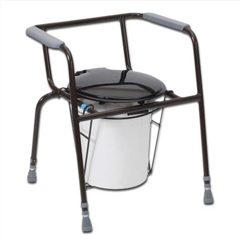 Chaise percée avec seau – Kegworth