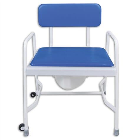 Chaise percée bariatrique extra large