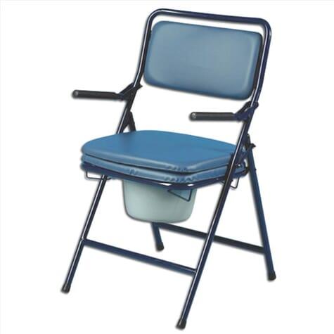 Chaise percée pliable