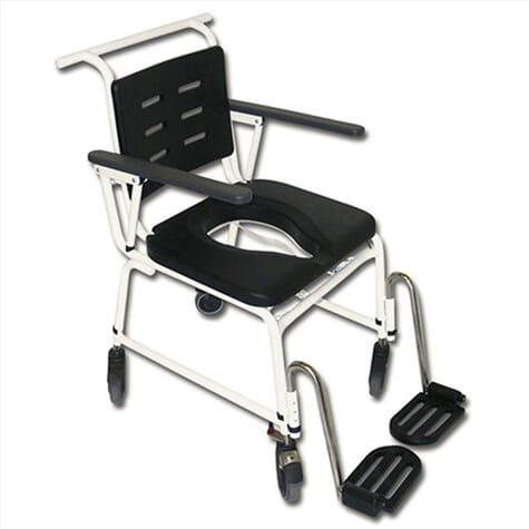 Chaise percée/chaise de douche à pousser – Extra large