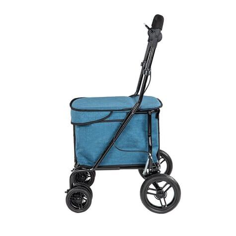 Chariot de course à pousser Carlett 700 - Turquoise