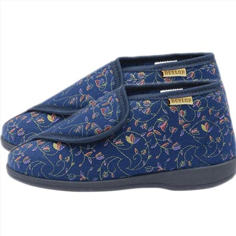 Chaussons montants pour femme - Dunlop - bleu - 36