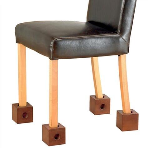Cubes rehausseurs en bois