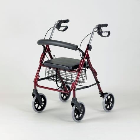 Déambulateur 4 roues avec siège - Homecraft - Ruby