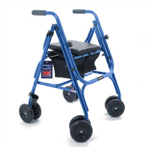 Déambulateur Rollator Freeway - Uniscan ® - Bleu