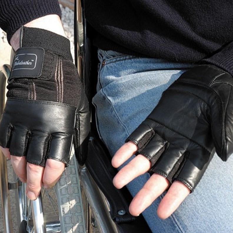 Gants waterproof pour fauteuil roulant - S