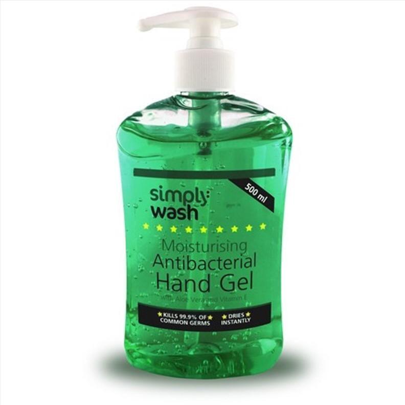 Gel antibactérien pour les mains - bouteille à poussoir 500 ml