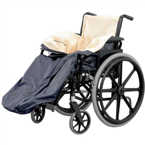 Housse ultra confortable pour fauteuil roulant