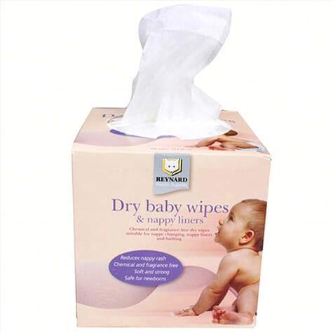 Lingettes sèches pour bébé