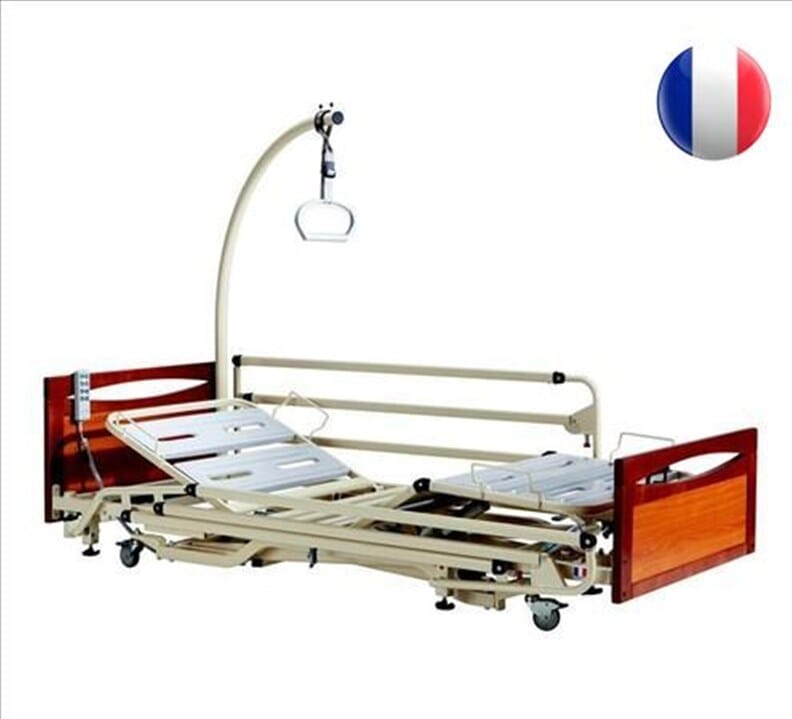 Lit médicalisé Alzheimer Euro 3802 - Avec panneaux S-Mod