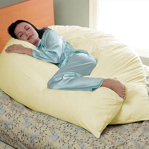 Long oreiller de corps