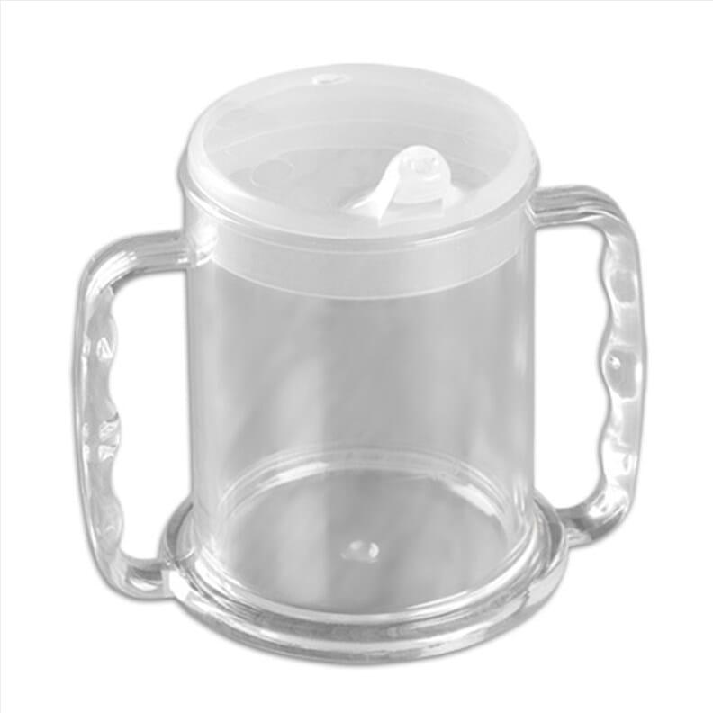 Mug à deux anses avec large base