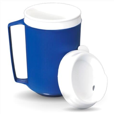Mug isotherme avec couvercle