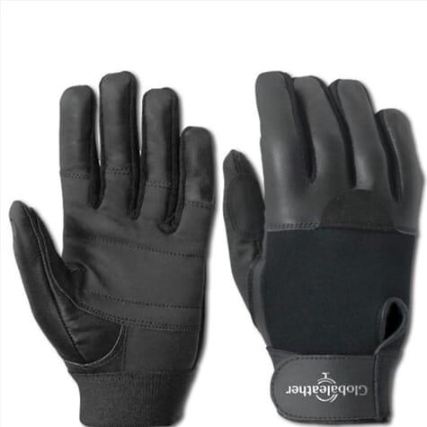 Paire de gants en cuir - fauteuil roulant - XS