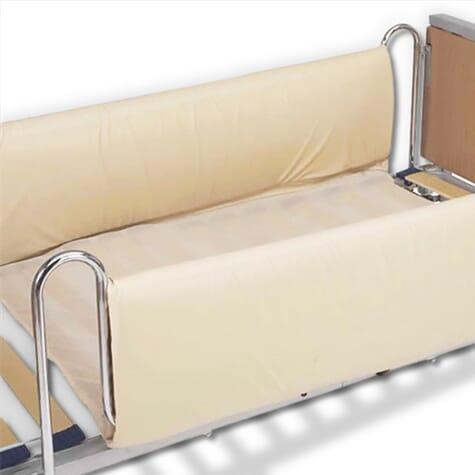 Paire de protections rembourrées - barrières de lit