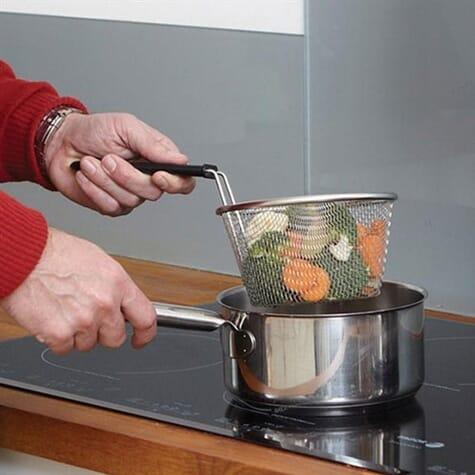 Panier de cuisson en acier inoxydable