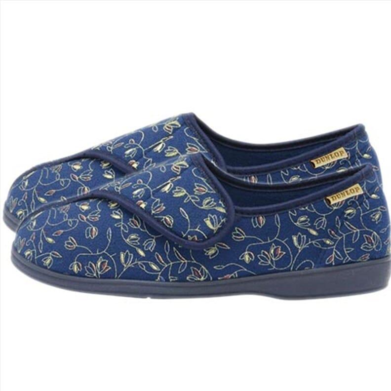 Pantoufles pour femme - bleu