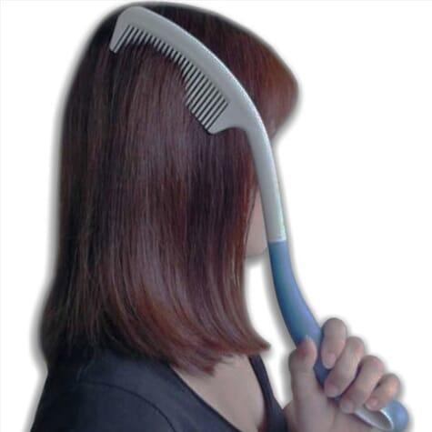 Peigne à cheveux long manche