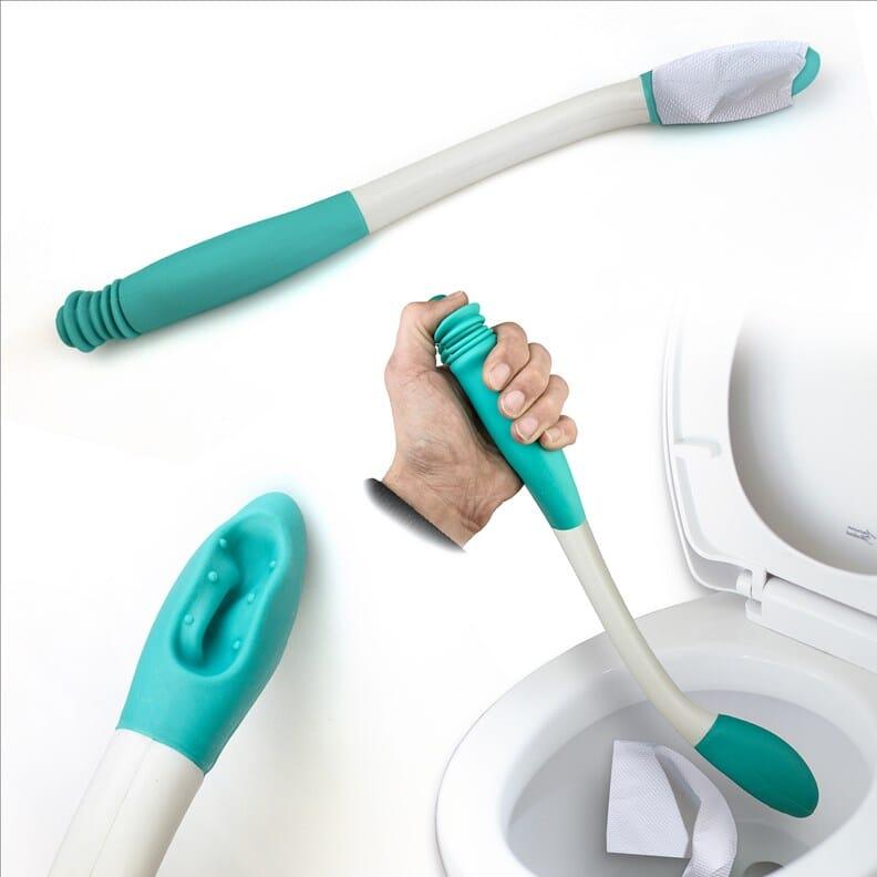 Pince à papier toilette/essuie-fesses eco