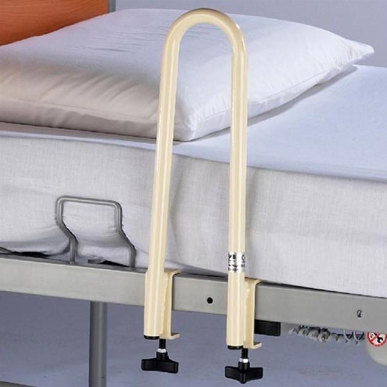 Poignée d'appui pour lit médicalisé