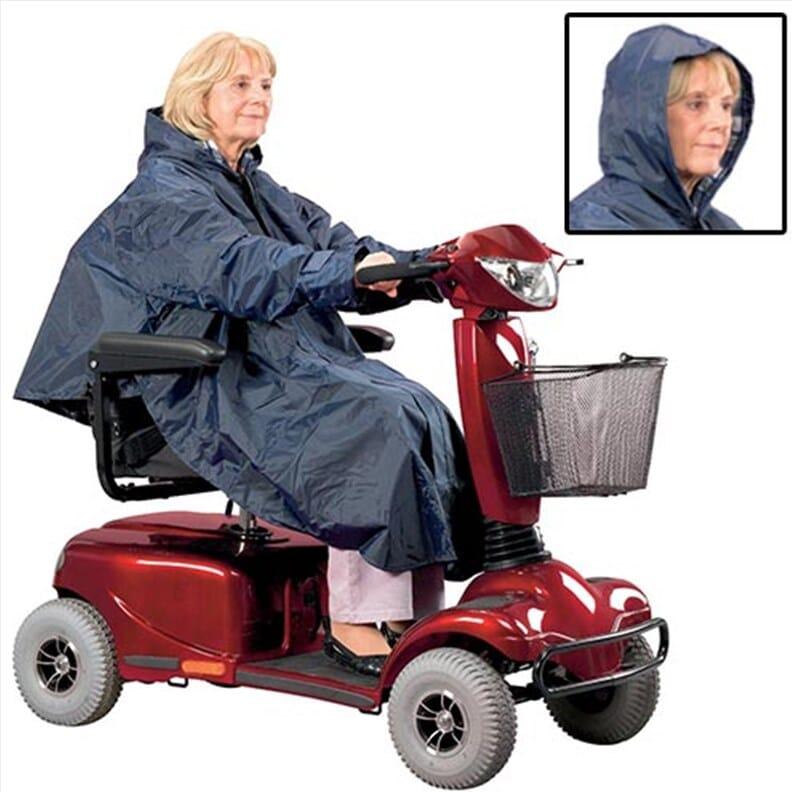 Poncho pour scooter électrique