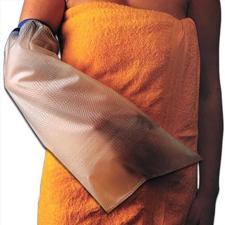 Protection de plâtre et bandages - Bras au-dessus du coude