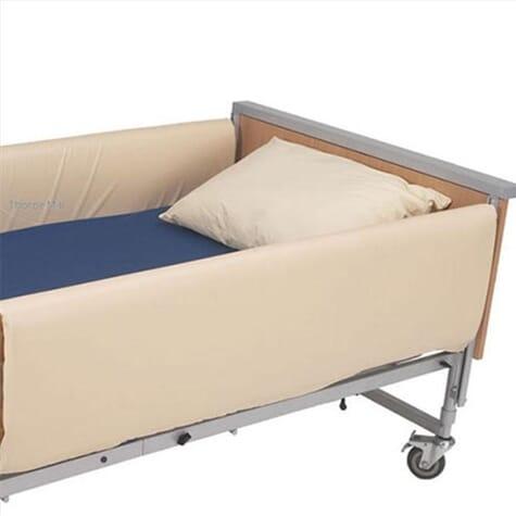 Protections rembourrées pour barrière de lit