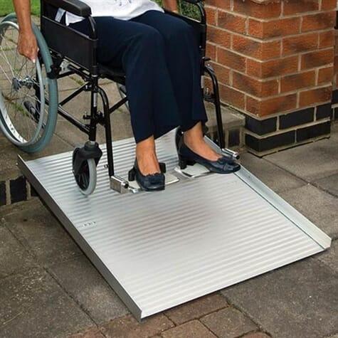 Rampe d'accès amovible Roll-Up