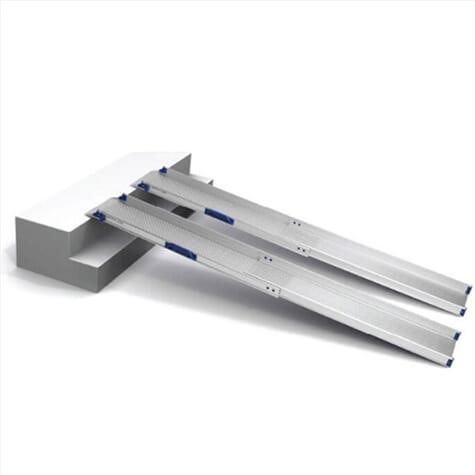 Rampes télescopiques légères - 202 cm