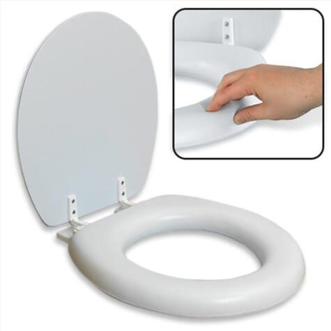 Abattant de toilette rembourré