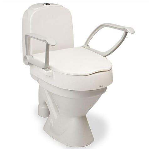 Rehausseur de toilettes avec accoudoirs Cloo – Etac