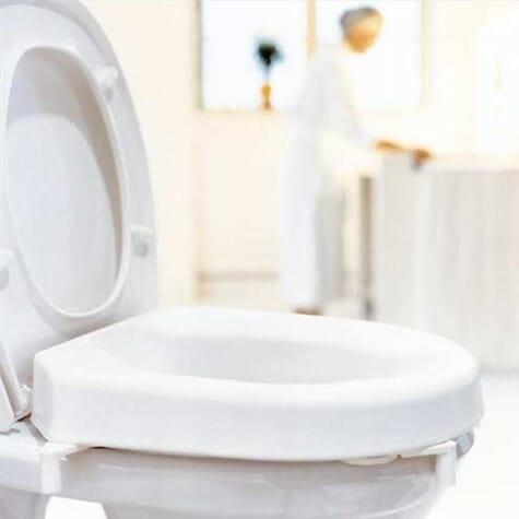 Rehausseur de toilettes Hi Loo avec fixations - Etac - 6 cm
