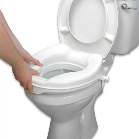 Rehausseur de toilettes Savanah - 15 cm