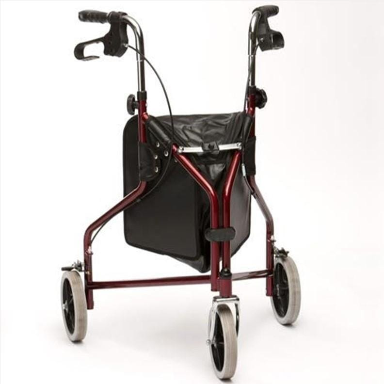Rollator manœuvrable à 3 roues - Drive - Rouge