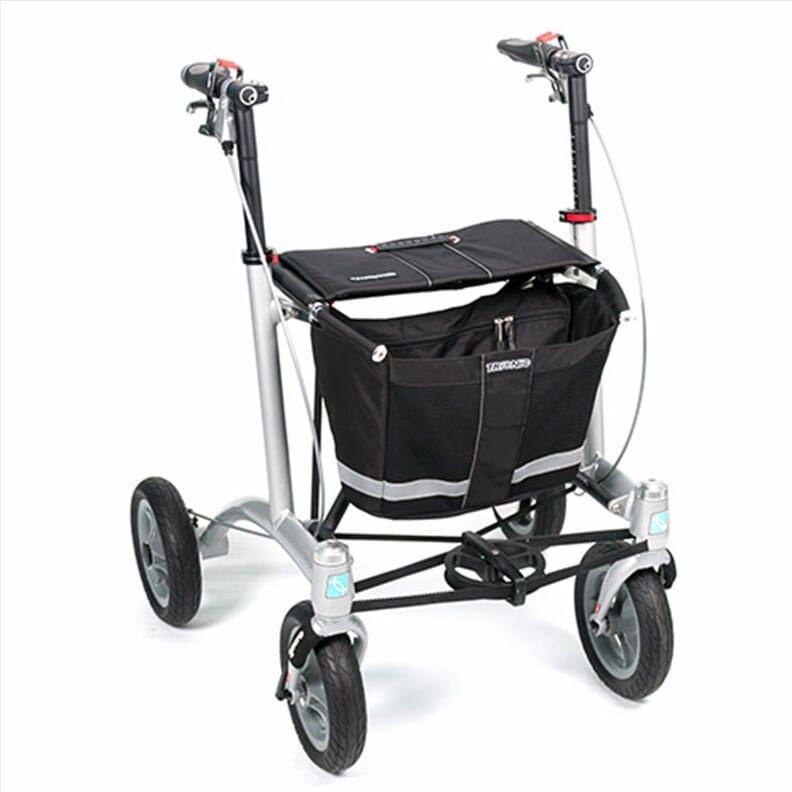 Rollator 4 roues Trionic Walker 9er - Noir - M