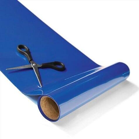 Rouleau antidérapant économique Tenura - Bleu - 20 cm x 1 m