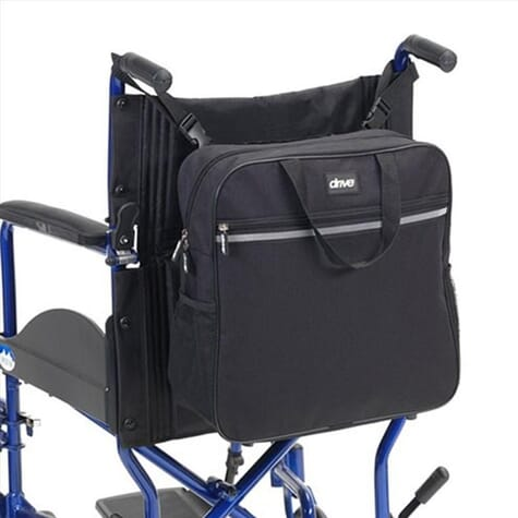 Sac à dos pour fauteuil de transfert