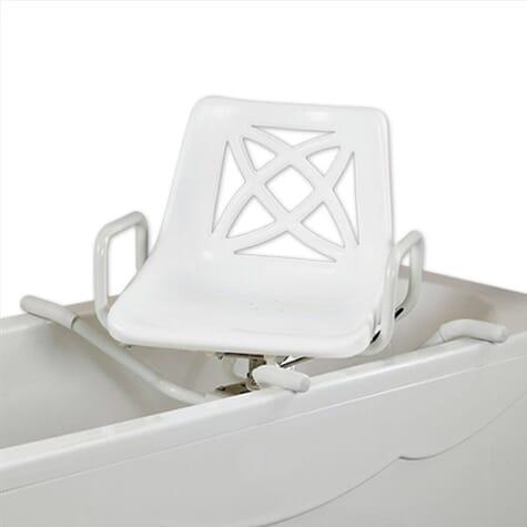 Siège de bain pivotant en aluminium - 66,5 cm
