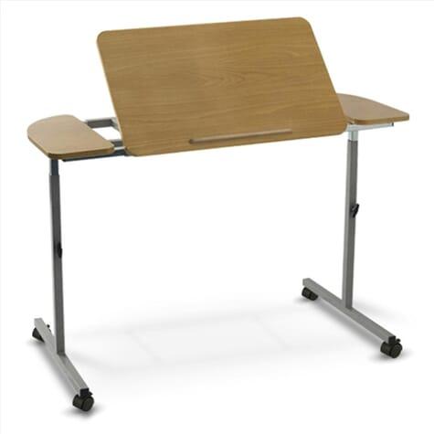 Table de lit réglable et inclinable